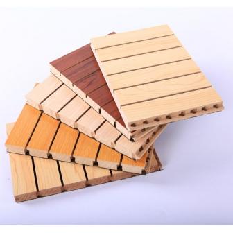 槽木木质吸音板